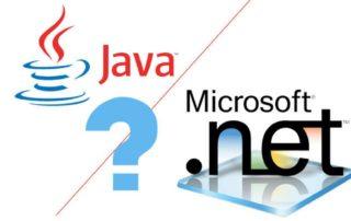 Java Vs. Dotnet
