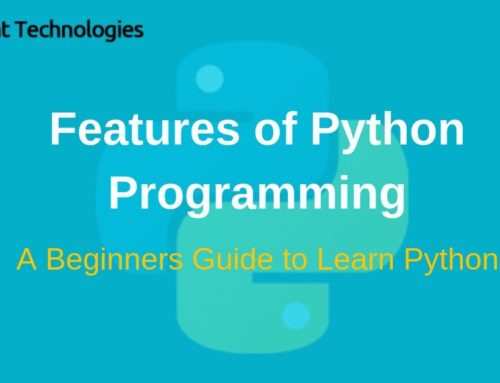 Features of Python Programming