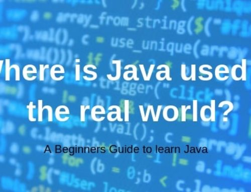Where is Java used in the real world?