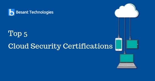 Top 5 Cloud Security Certifications